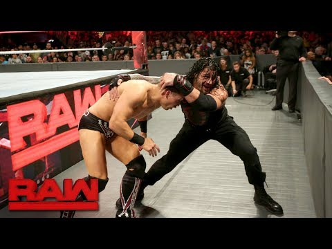 The Miz vs. Roman Reigns - Intercontinental Championship Match: Raw, Oct. 2, 2017 thumbnail