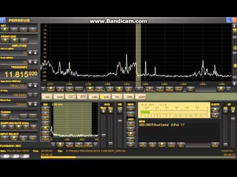 11815.02 kHz Radio Brasil Central / Nov. 05,2015 2050 UTC