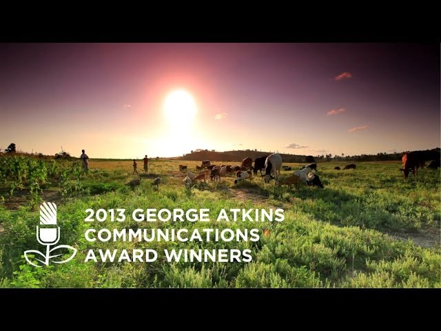 George Atkins Communications Award Winners 2013