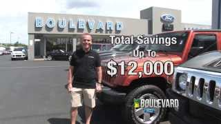 Huge Discounts and Rebates on all Ford Trucks at Boulevard Ford in Delaware