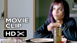 The Road Within Movie CLIP - Cafeteria (2015) - Dev Patel, Zoë Kravitz Movie HD