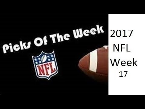 NFL 2017 Week 17 Top Picks against the Spread(10-2 Top Pick last 12 weeks, 27-21-1 Season ATS)