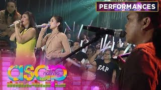 "Regine and Sarah G perform the iconic song ""Ikaw Lamang"" with Silent Sanctuary 