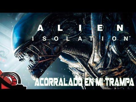 ACORRALADO EN MI TRAMPA | Alien Isolation - #9 Macho Asturiano