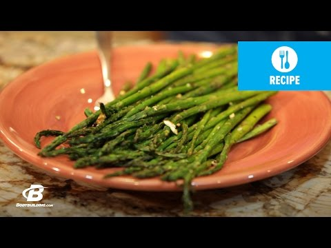 Garlic Roasted Asparagus | Healthy Recipes