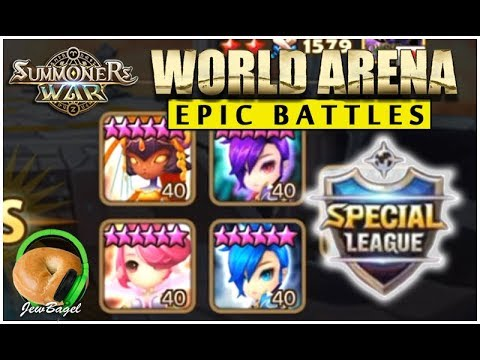 SUMMONERS WAR : Epic Battles of Special League World Arena