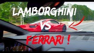 Lamborghini vs Ferrari and Southern Food Like a Boss!