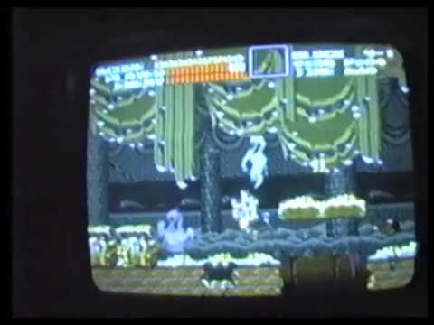 Playing Super Castlevania IV in 1992