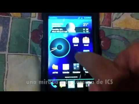 Galaxy S i9000T con Ice Cream Sandwich 4.0.1 Galnet MIUI (Review En Español)