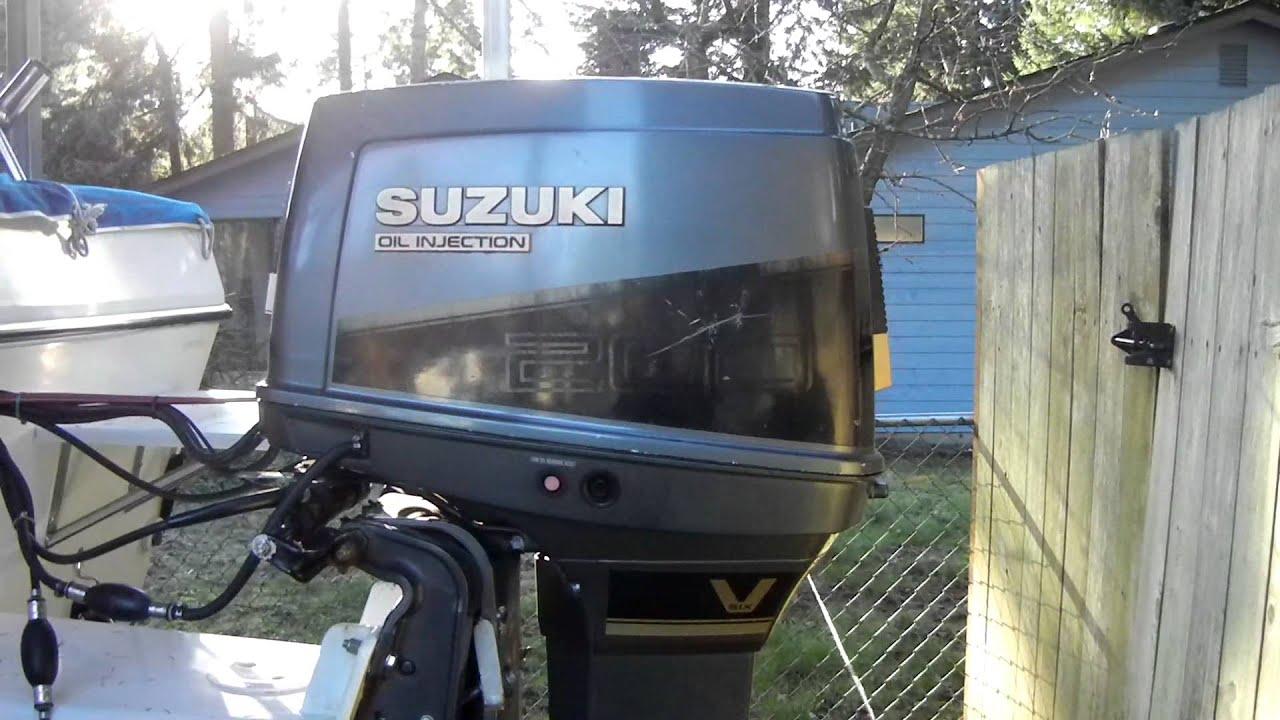 1991 Suzuki Dt 200 Youtube