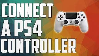 How To Connect A PS4 Controller To PC (Easiest Way)