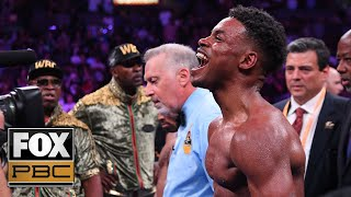Errol Spence Jr after split decision win over Shawn Porter: I want Manny Pacquiao | PBC ON FOX