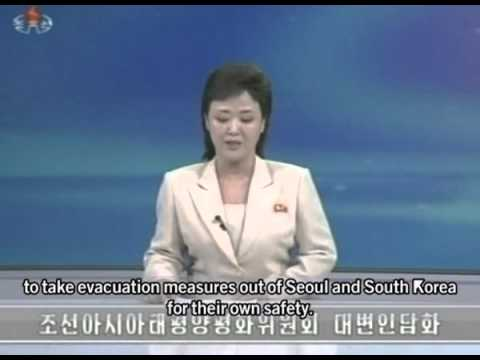 North Korea warns foreigners in South to evacuate