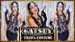 FLAPPER DRESS! 1920's GREAT GATSBY COSTUME