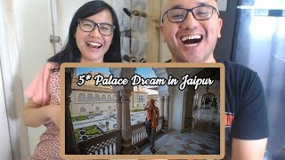 Indonesians React To LUXURY LIFE in INDIA | Rambagh Palace in Jaipur 5* |  Volpe Where Are You