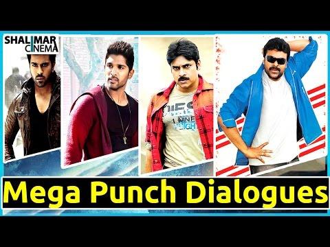 Mega Family Super Hit Punch Dialogues    Telugu Punch Dialogues Photo Image Pic