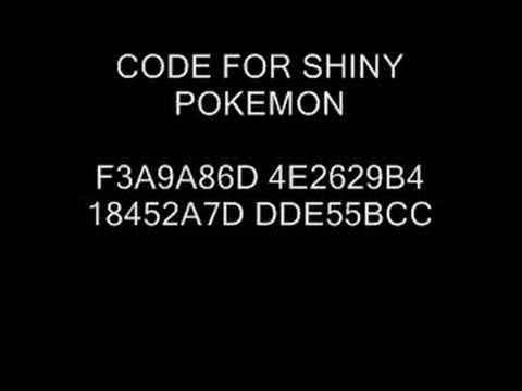 Pokemon emerald action replay shiny code youtube