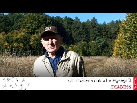 Szabó György beszél a cukorbetegségről