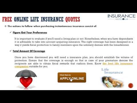 Purchase Life Insurance Online From The Best Life Insurance Companies