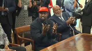 Kanye West Full White House Speech with President Trump
