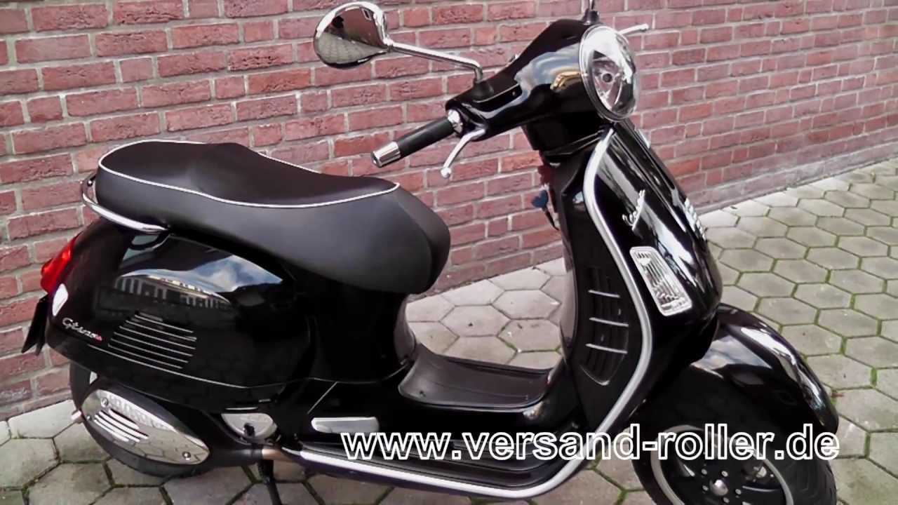 versand roller vespa gts 125 super i e 2013er modell. Black Bedroom Furniture Sets. Home Design Ideas