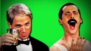 Epic Rap Battles Of History - Behind the Scenes - Freddy Mercury vs Frank Sinatra