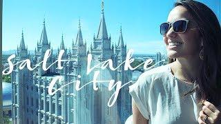 Salt Lake City, Utah   Passeio Pela Praça do Templo e a Igreja Mórmon