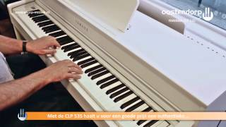 Yamaha CLP 535 digitale piano | Sounddemo