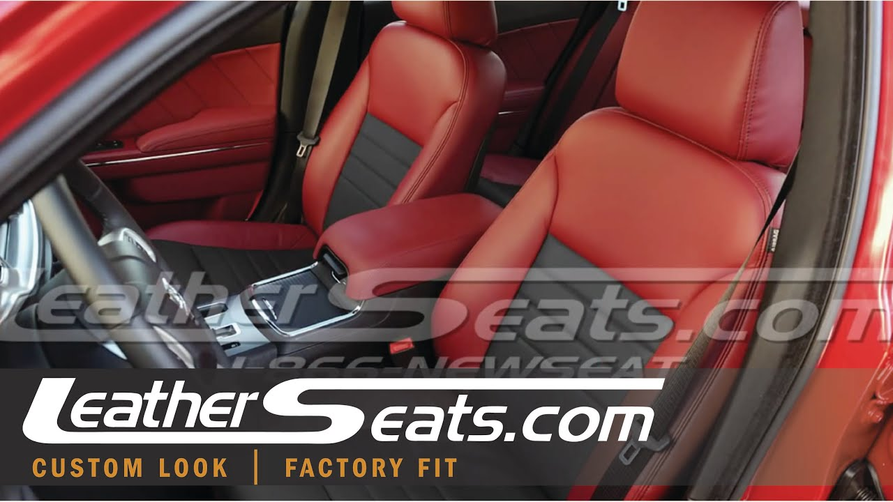 Dodge Charger Leather Interior Upholstery Kit Cloth To