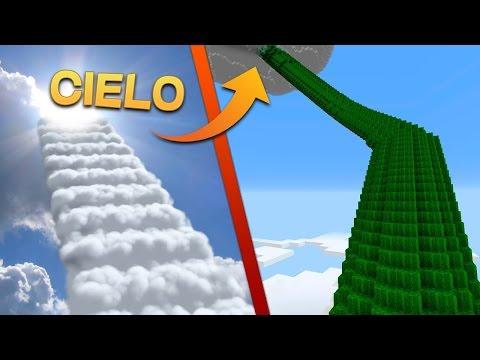 COMO IR AL CIELO EN MINECRAFT! - PORTAL AL CIELO MINECRAFT | DIMENSIONES #57