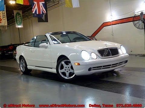 2003 Mercedes Benz Clk 430 Cabrio Edirect Motors How