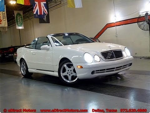 2003 Mercedes-Benz CLK 430 Cabrio - eDirect Motors