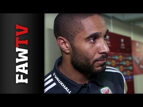 Ashley Williams Reaction From Cyprus