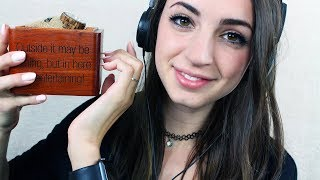 Tapping on Wooden Objects ASMR