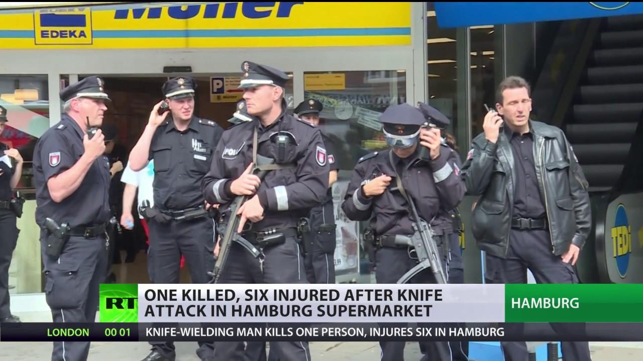 Hamburg knife attack: 1 killed, 6 injured after stabbings in supermarket