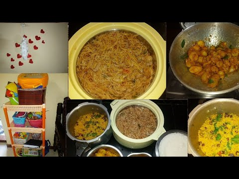 Indian mom busy morning routine Tamil || Breakfast and lunch preparation || Living room cleaning