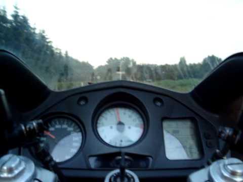 Honda VFR 800 FI (top speed a