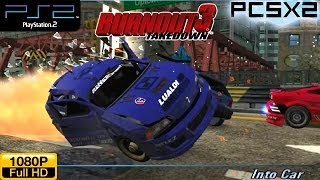 Burnout 3: Takedown - PS2 Gameplay 1080p (PCSX2)