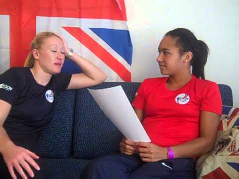 Heather Watson on Elena Baltacha - What's your favourite...