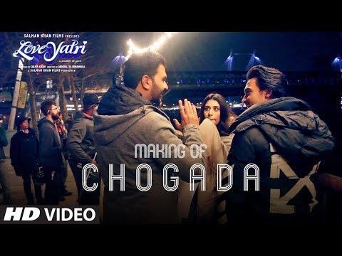 Loveratri: Making Of Chogada Song   Aayush Sharma   Warina Hussain