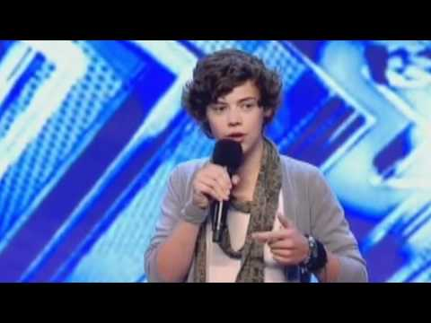 Audición de Harry en The X Factor (Traducida)