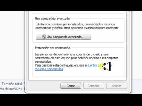 Como compartir una unidad de disco duro en red en Windows 7