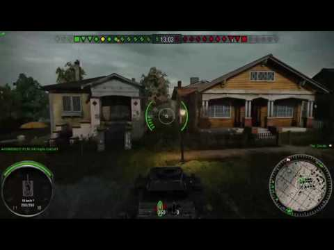 World of Tanks (Ps4) Gameplay