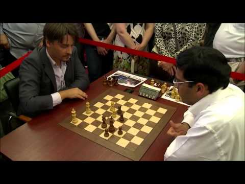 Viswanathan Anand vs Alexander Morozevich - Blitz Chess Ending
