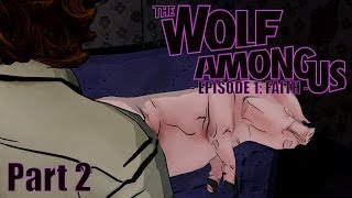 Unser Hausschwein! #2 - THE WOLF AMONG US - EPISODE 1: Faith [HD] | Walkthrough, Let's Play