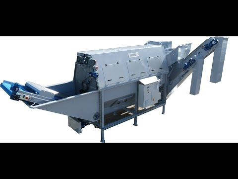 Haith Washer with De-stoner & Floating Waste Removal System
