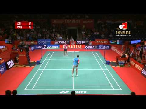 Saina Nehwal (INDIA) VS Carolina Marin (SPAIN) Djarum Indonesia Open 2013