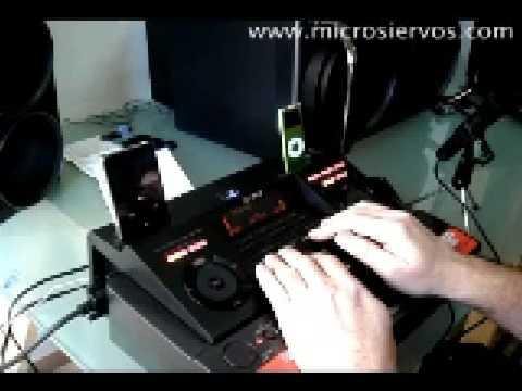 Mesa de mezclas Sony LBT DJ2i