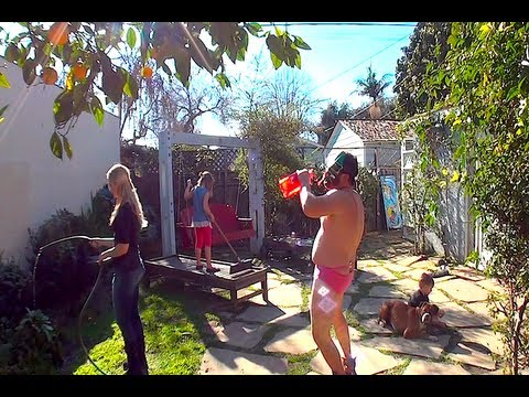 The Harlem Shake (backyard edition)