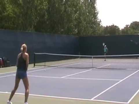 Elena Baltacha Training